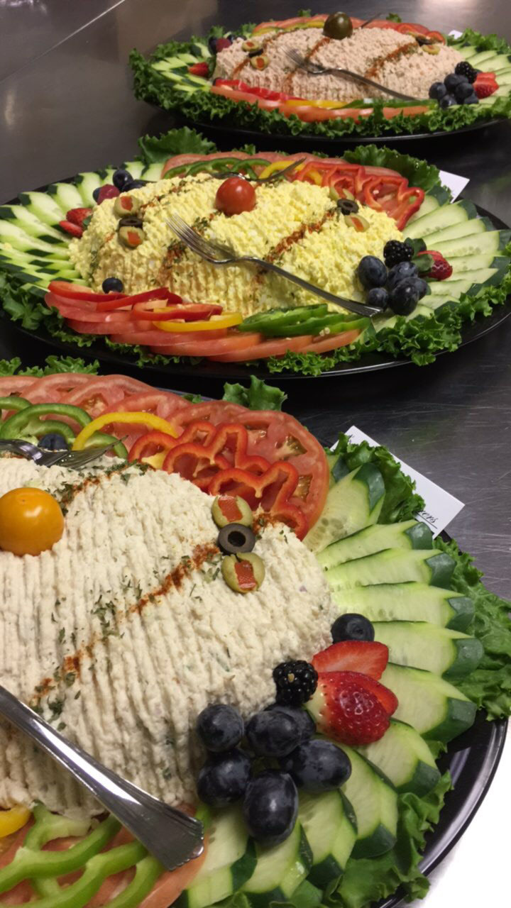 Foodarama's Salads Buffet, tuna, salmon, whitefish, bagels, delivery to Mainline Philadelphia, Cherry Hill