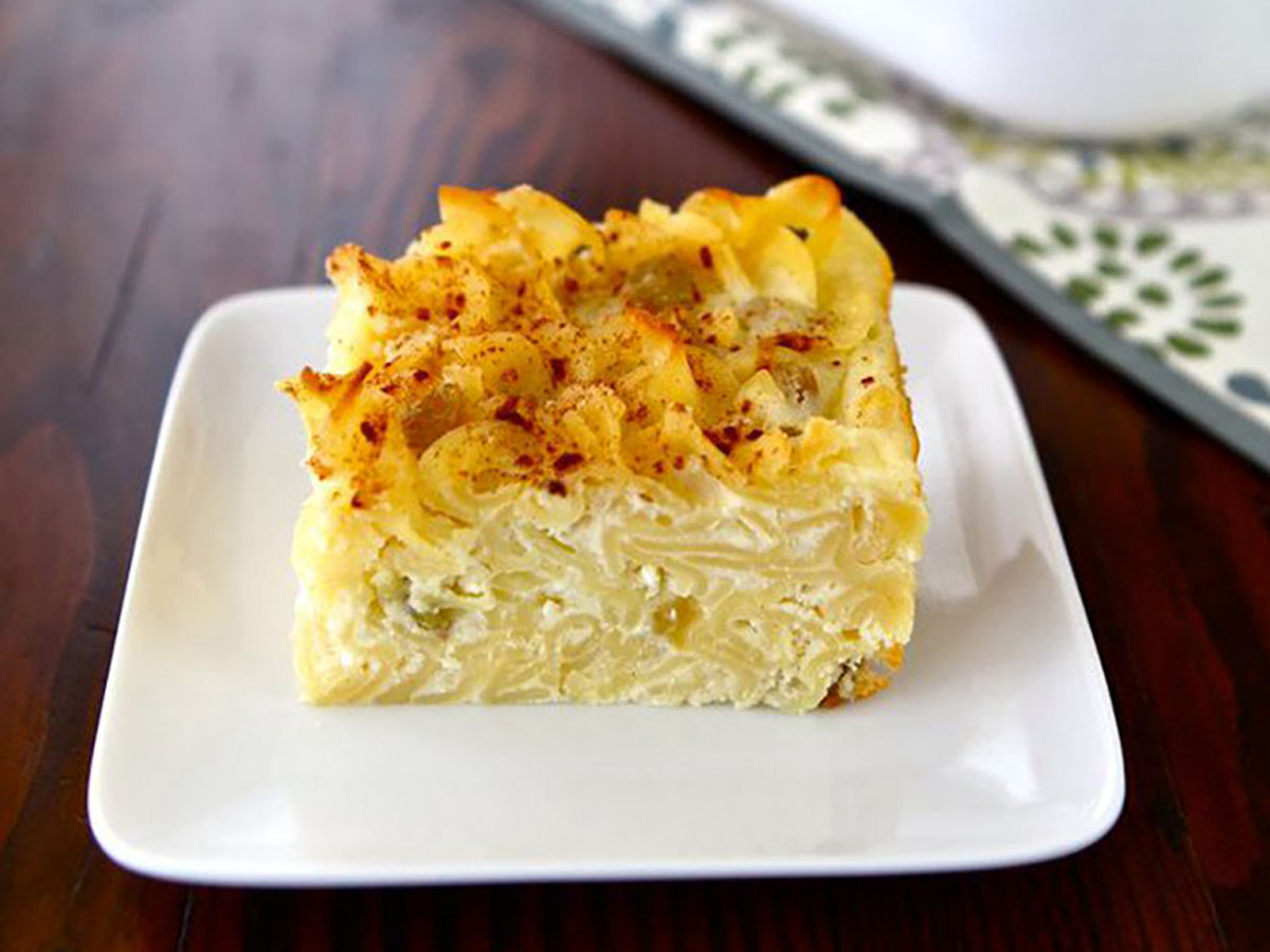 Kugel for Kiddush Certified Kosher Caterers Panache Catering By Foodarama